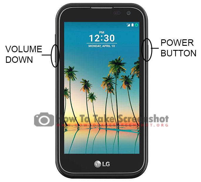 How to Take Screenshot on LG K3