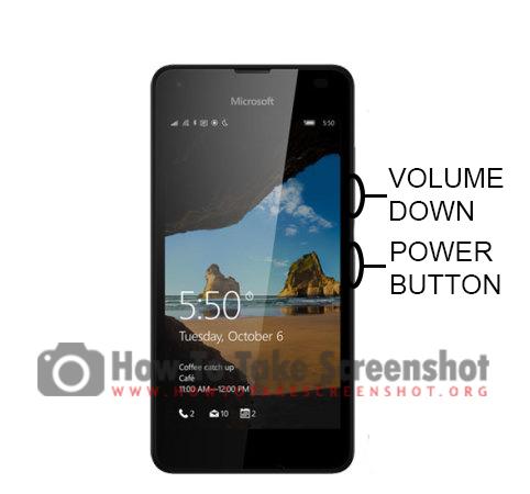 How to Take Screenshot on Microsoft Lumia 550