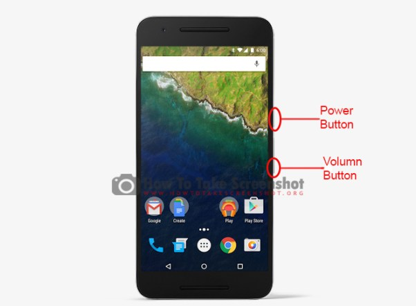 How to Take screenshot on Huawei Nexus 6P
