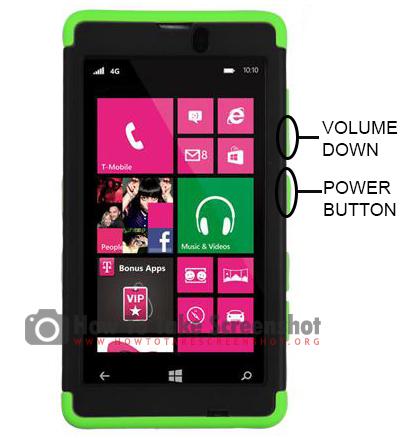 How to Take Screenshot on Nokia Lumia 521