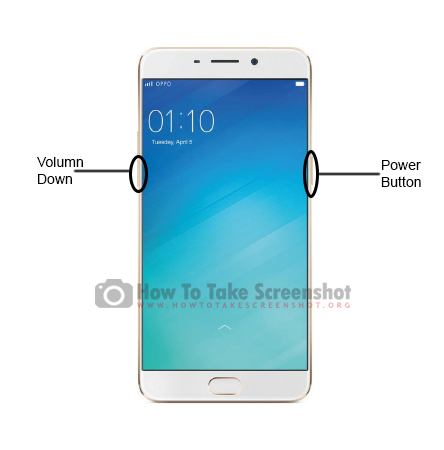 How to Take Screenshot on Oppo F1