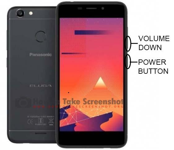How to Take Screenshot on Panasonic Eluga I7