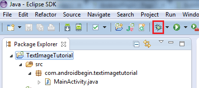 Run Project on Android Phone Debug