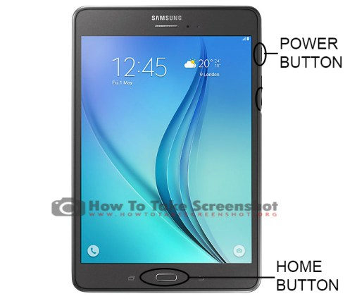 How to Take Screenshot on Samsung Galaxy Tab A