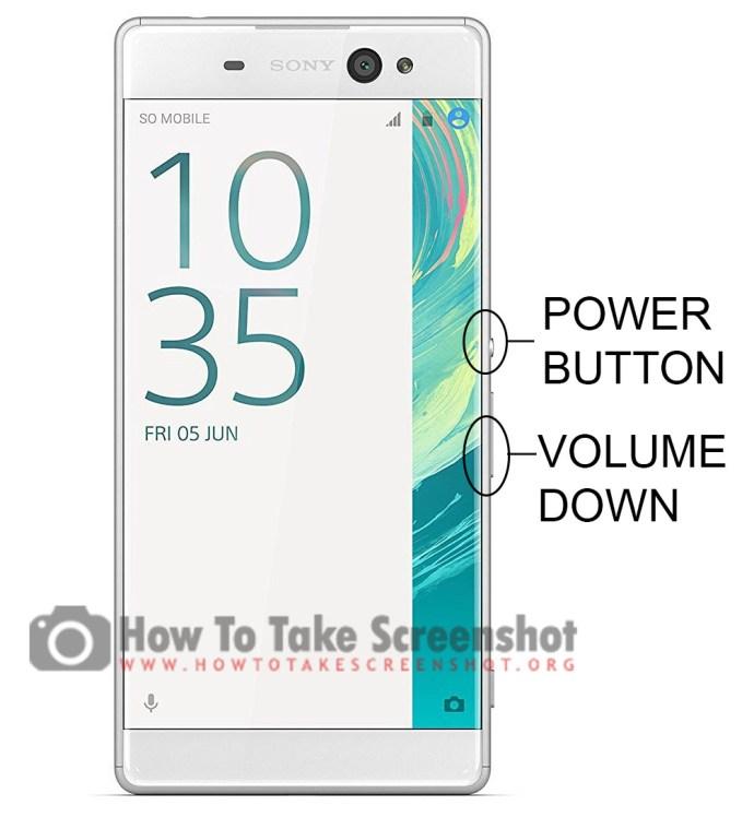 How to Take Screenshot on Sony Xperia X Ultra