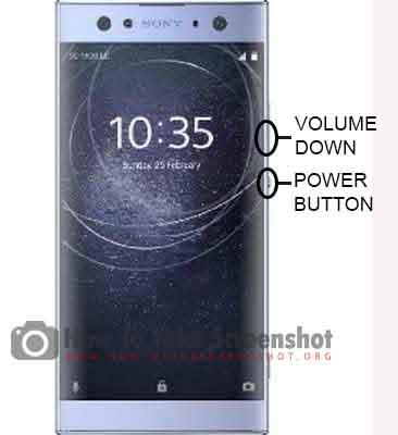 How to Take Screenshot Sony Xperia XA3