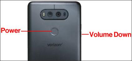 How to Take Screenshot on LG V20