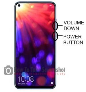 How to Take Screenshot on Huawei Honor View 20