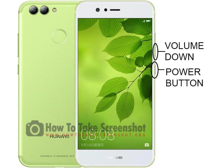How to Take Screenshot on Huawei Nova 2