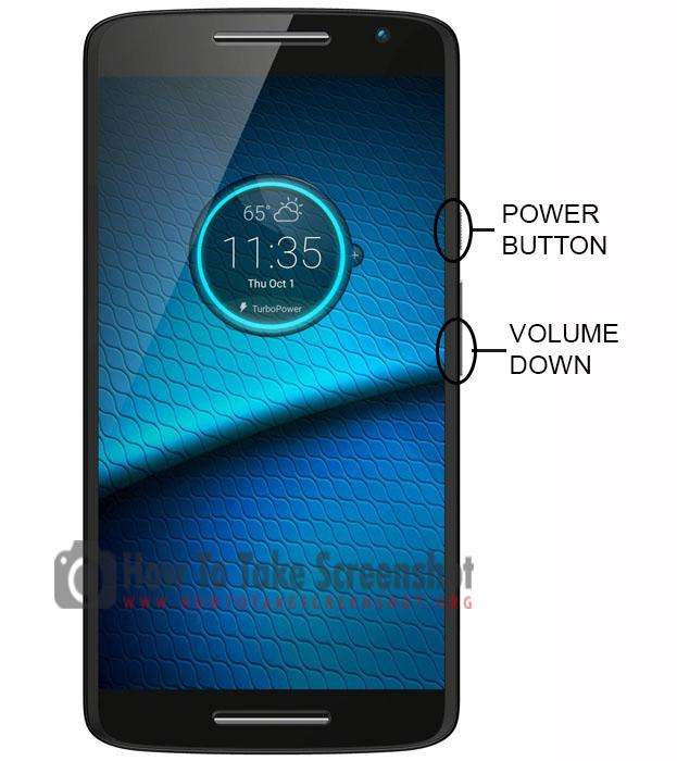 How to Take Screenshot on Motorola Droid Maxx 2