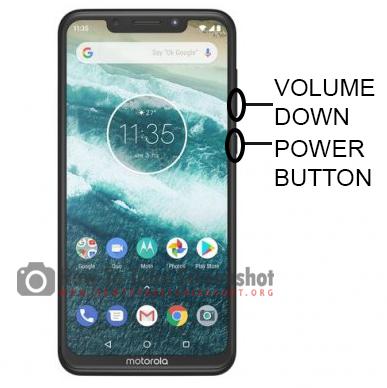 How to Take Screenshot on Motorola One