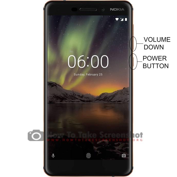 How to Take Screenshot on Nokia 6.1
