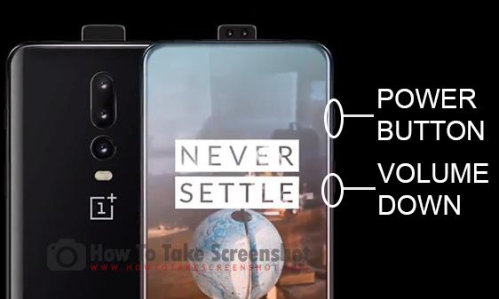 How to Take Screenshot on OnePlus 6T