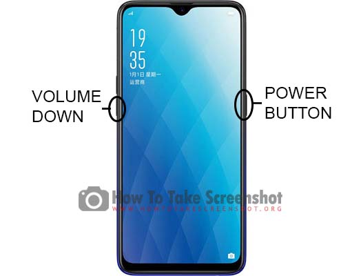 How to Take Screenshot on Oppo A7x