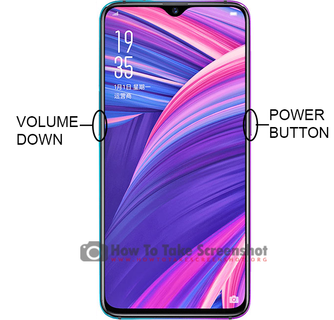 How to Take Screenshot on Oppo R17 Pro
