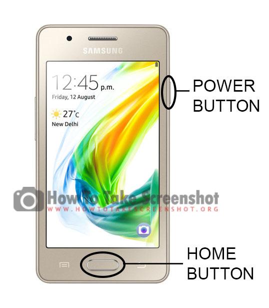 How to Take Screenshot on Samsung Z2