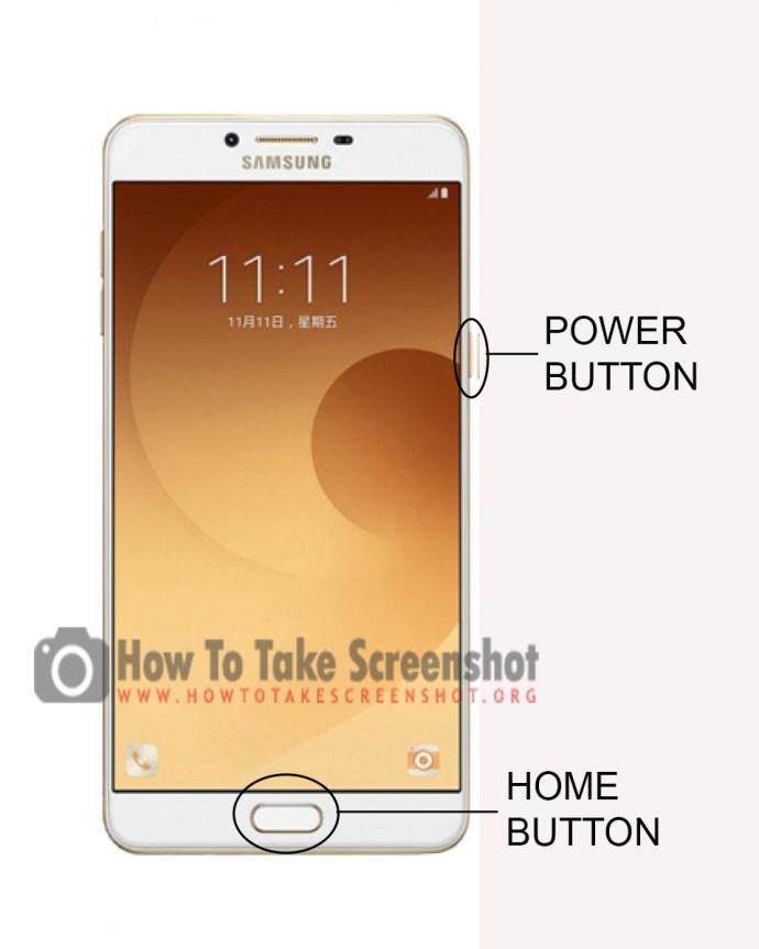 How to Take Screenshot on Samsung Galaxy C9 Pro