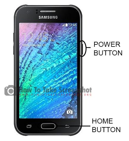 How to Take Screenshot on Samsung Galaxy J1