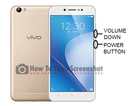 How to Take Screenshot on Vivo Y55S