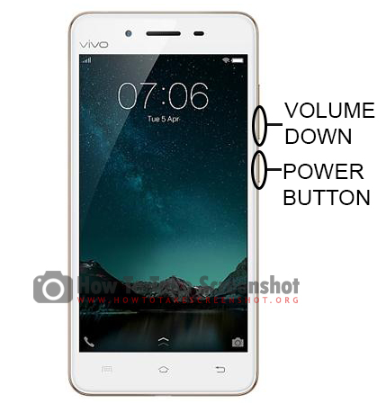 How to Take Screenshot on Vivo V3
