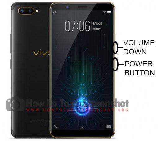 How to Take Screenshot on Vivo X20