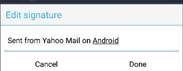 Yahoo-android-default-signature
