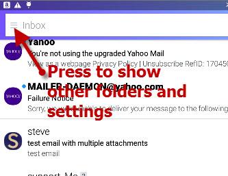 Yahoo-mobile-settings