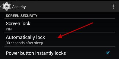 automatic-lock-setting