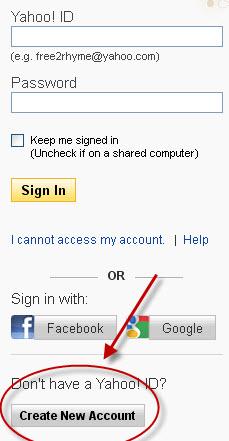 Login yahoo mail fb Yahoo is