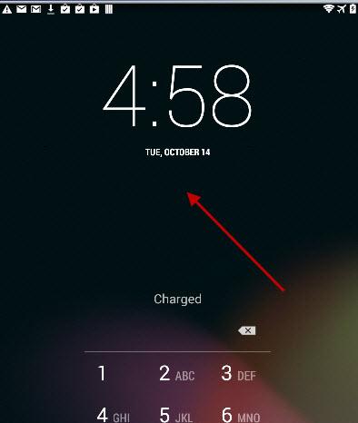 default-lockscreen-clock