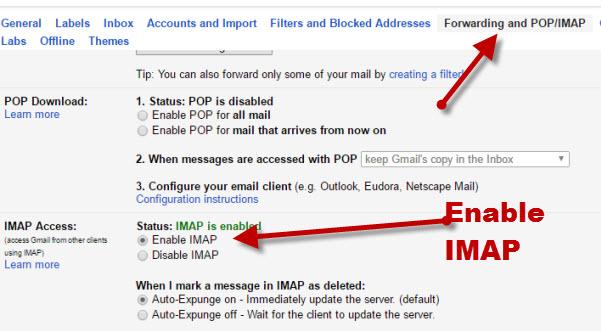 gmail-enable-imap
