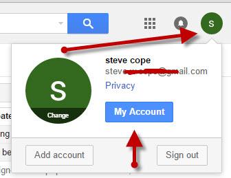 google-account-setings