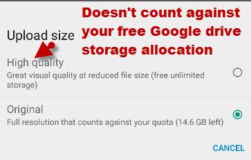 google-photos-size-setting