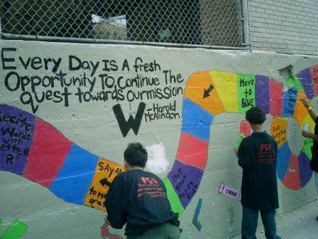 SwirlNYC volunteers help with school revitalization in the Bronx