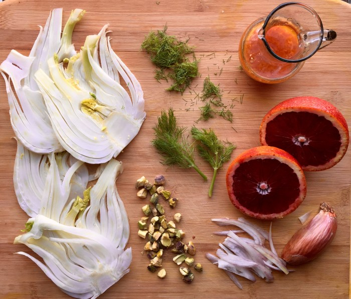 Crisp slices of fresh fennel with a hint of licorice flavor combine with theraspberry-citrus notes of blood oranges making Pistachio Blood Orange & Fennel Salad a refreshing addition to any meal. blood orange | orange | fennel | nuts | pistachios | salad | side dish