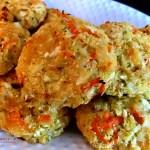 Three Cheese Cauliflower Rice Patties