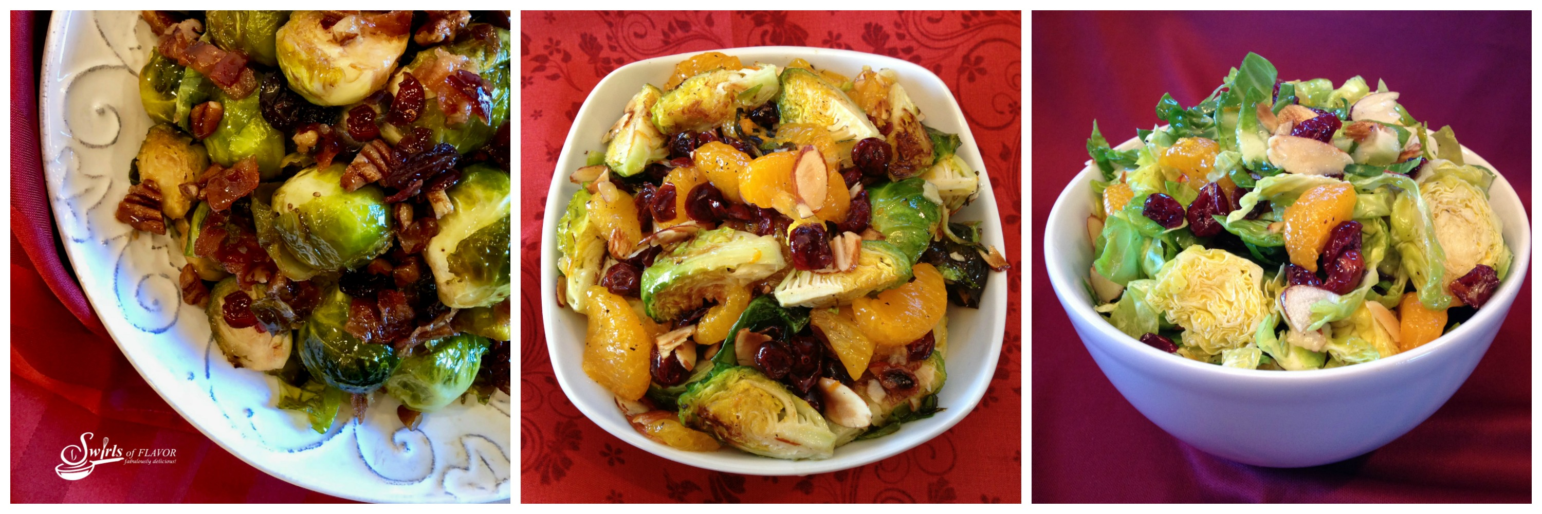 Three brussels sprouts recipes