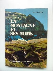 La Montagne et ses Noms