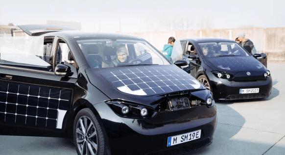 E-Auto, Sono Motors, Solar
