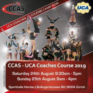 UCA - Coaches Course 2019 @ Sporthalle Hardau | Zürich | Zürich | Schweiz