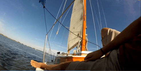 Relaxation while sailing