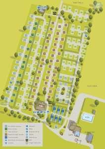 Swiss Farm Campsite Map Overview