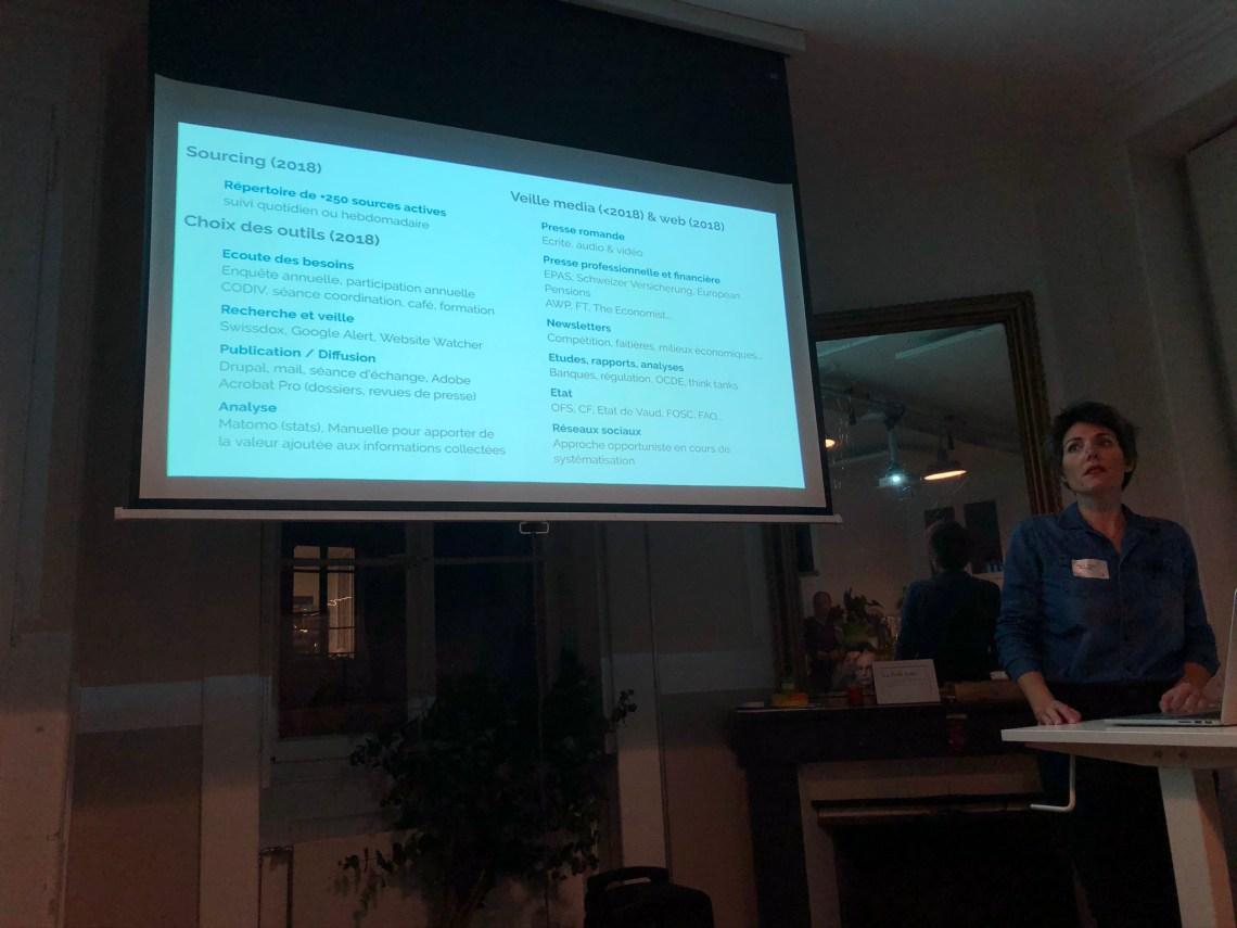Swissintell Event Veille Knowledge Management
