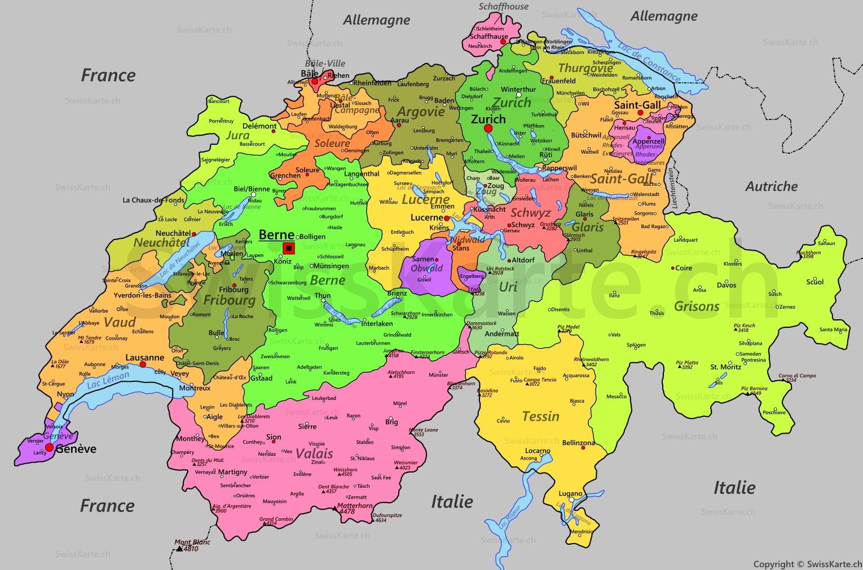 Suisse Carte 1 530 1 012 Pixels