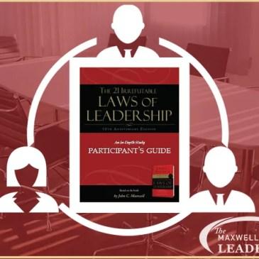Maxwell Method of Leadership - MasterMind