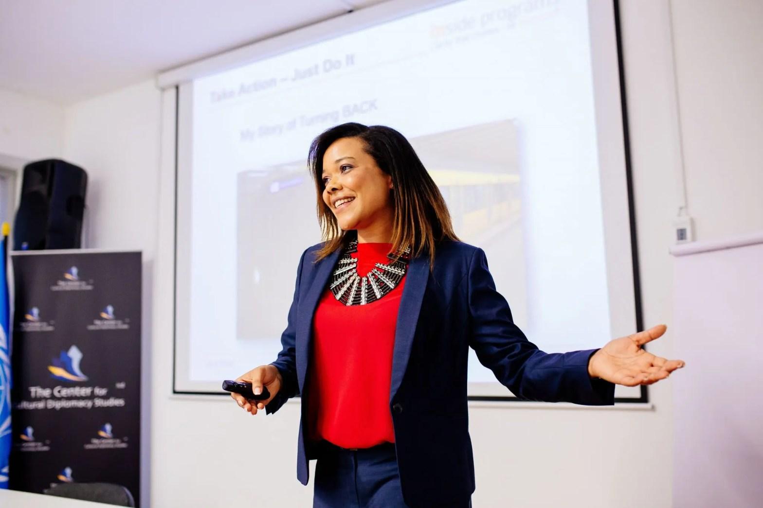 Ebony Fagbuyi - Founding Teaching Partner of Swiss Leaders Group