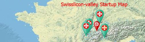 La carte des startups suisses
