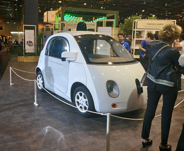 VivaTechnology -GoogleCar