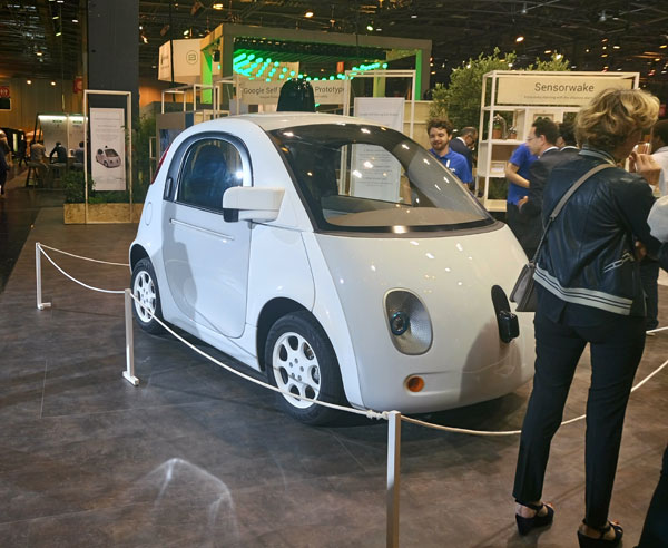 VivaTechnology -GoogleCar