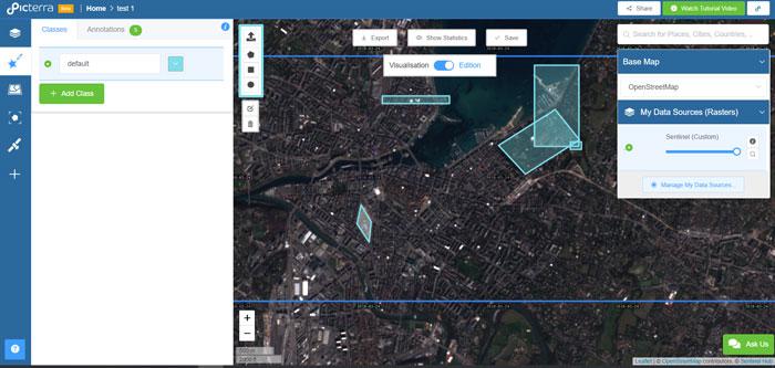 Picterra, l'intelligence artificielle au service de l'imagerie terrestre